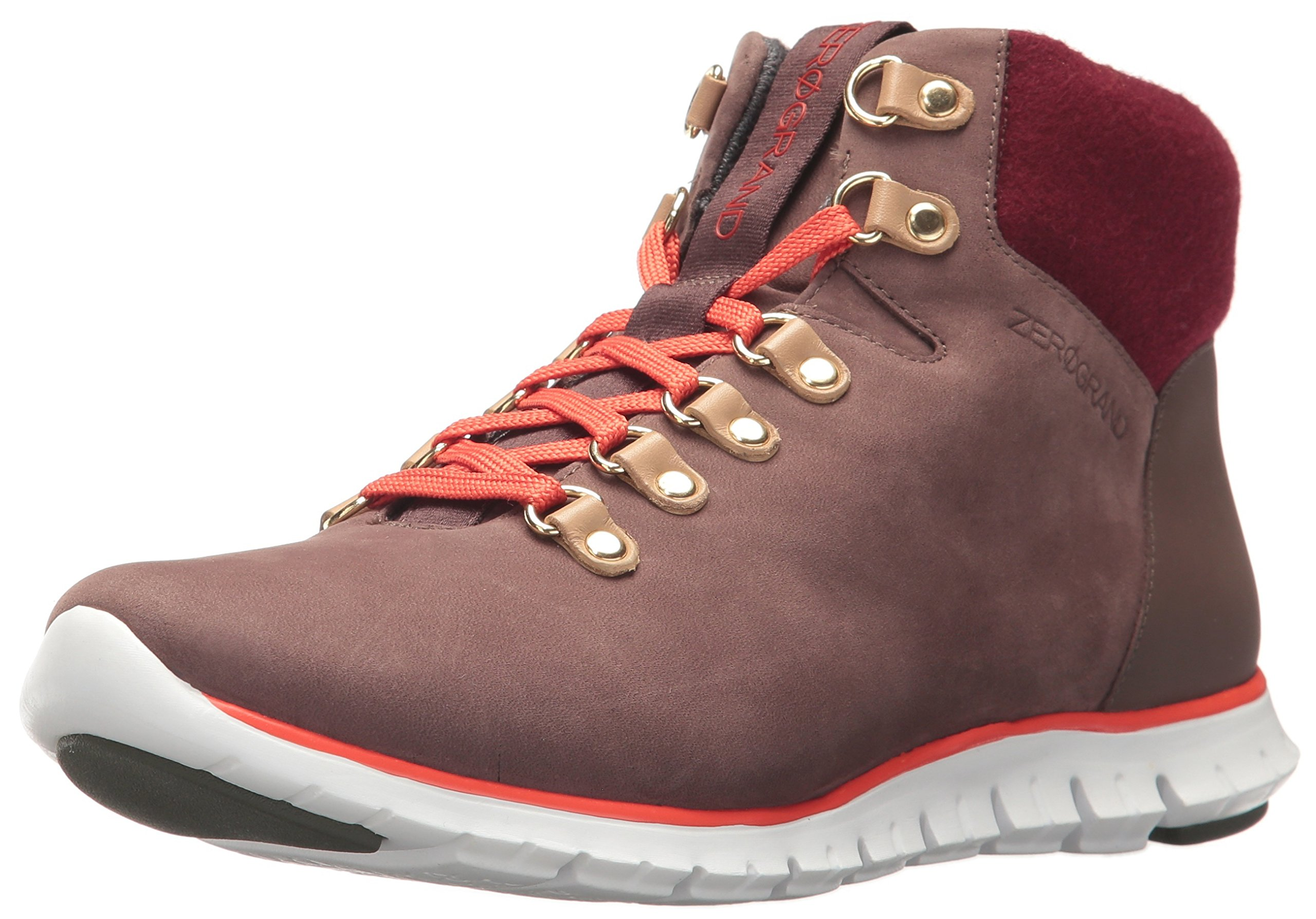 Cole Haan Women's Zerogrand Hikr Boot, Chestnut, 6 B US
