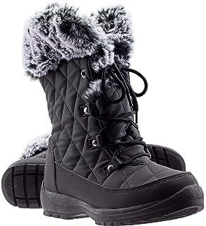 0d678b4bd84f8 ArcticShield Women's Anna Warm Waterproof Insulated Comfortable Memory Foam  Fur Winter Snow Boots