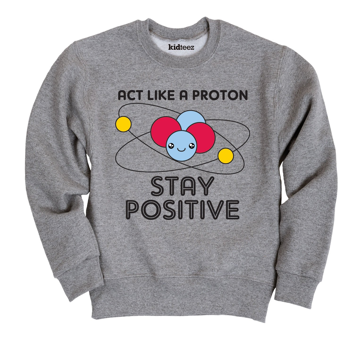 Instant Message Act Like A Proton-Toddler Crew Fleece Air Waves