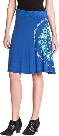 Desigual Cable - Falda Mujer: Amazon.es: Ropa y accesorios