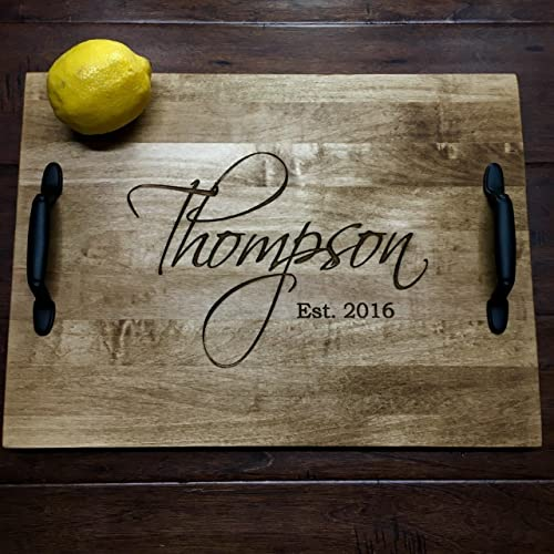 4828b2e0d04 Image Unavailable. Image not available for. Color  Personalized Serving Tray  ...