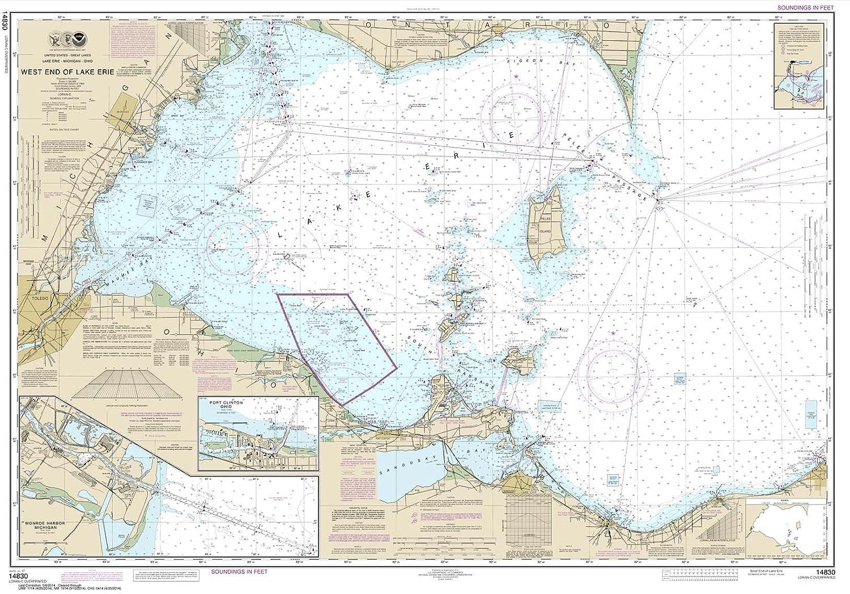 Amazon Com Paradise Cay Publications Noaa Chart 14830 West End Of