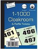 Just Stationery - Tickets para guardarropa (del 1 al 1000)