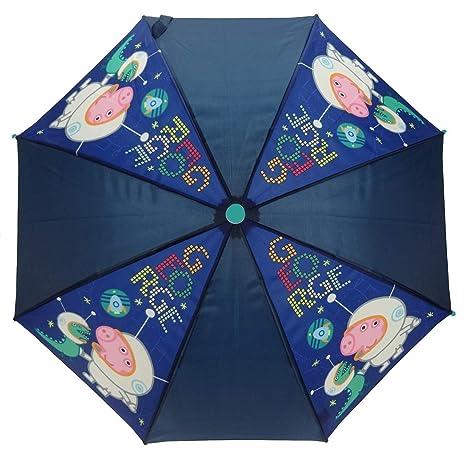 Peppa Pig Paragua clásico, azul marino (Azul) - PEPPA005105