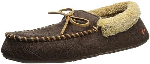 Dockers - Mocasín Dockers Ryan Aviator con Felpa Sherpa cálida Estilo Collar Hombres: Amazon.es: Zapatos y complementos