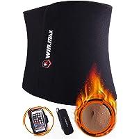 WIN.MAX Waist Trimmer Belt,Waist Trainer for Women,Slimmer Kit for Men,Stomach Slimmer,Sweat Wrap,Abdominal Trainer,Adjustable Waist Cincher Trimmer,Sport Girdle Belt,Sauna Effect