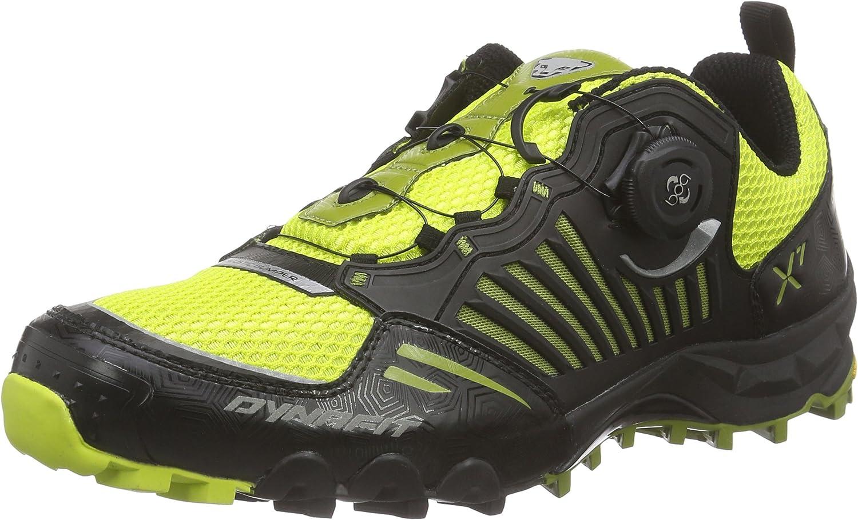 DynafitMS Feline X7 - Zapatillas de Running para Asfalto Hombre, Color Negro, Talla 47: Amazon.es: Zapatos y complementos