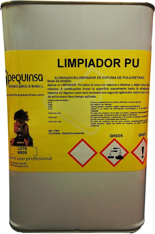 Limpiador de espuma de poliuretano. Envase 5 litros.: Amazon.es ...