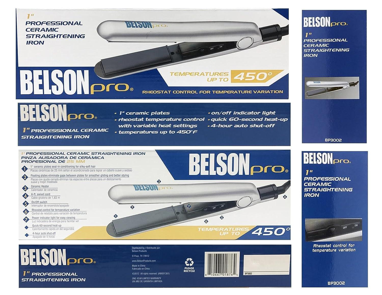 Amazoncom Belson Pro 450f 1 Professional Ceramic Straightening