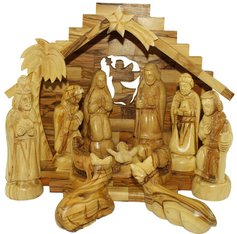 Nativity Set- Olive Wood Nativity Set