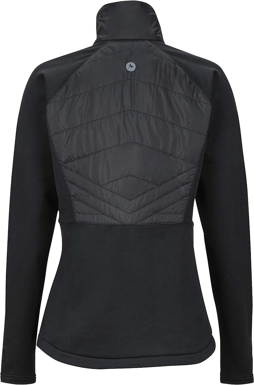 Marmot Wms Variant Hybrid Jacket Resistente Al Viento Mujer Transpirable Forro Polar Chaqueta Para Exteriores Con Cremallera Completa