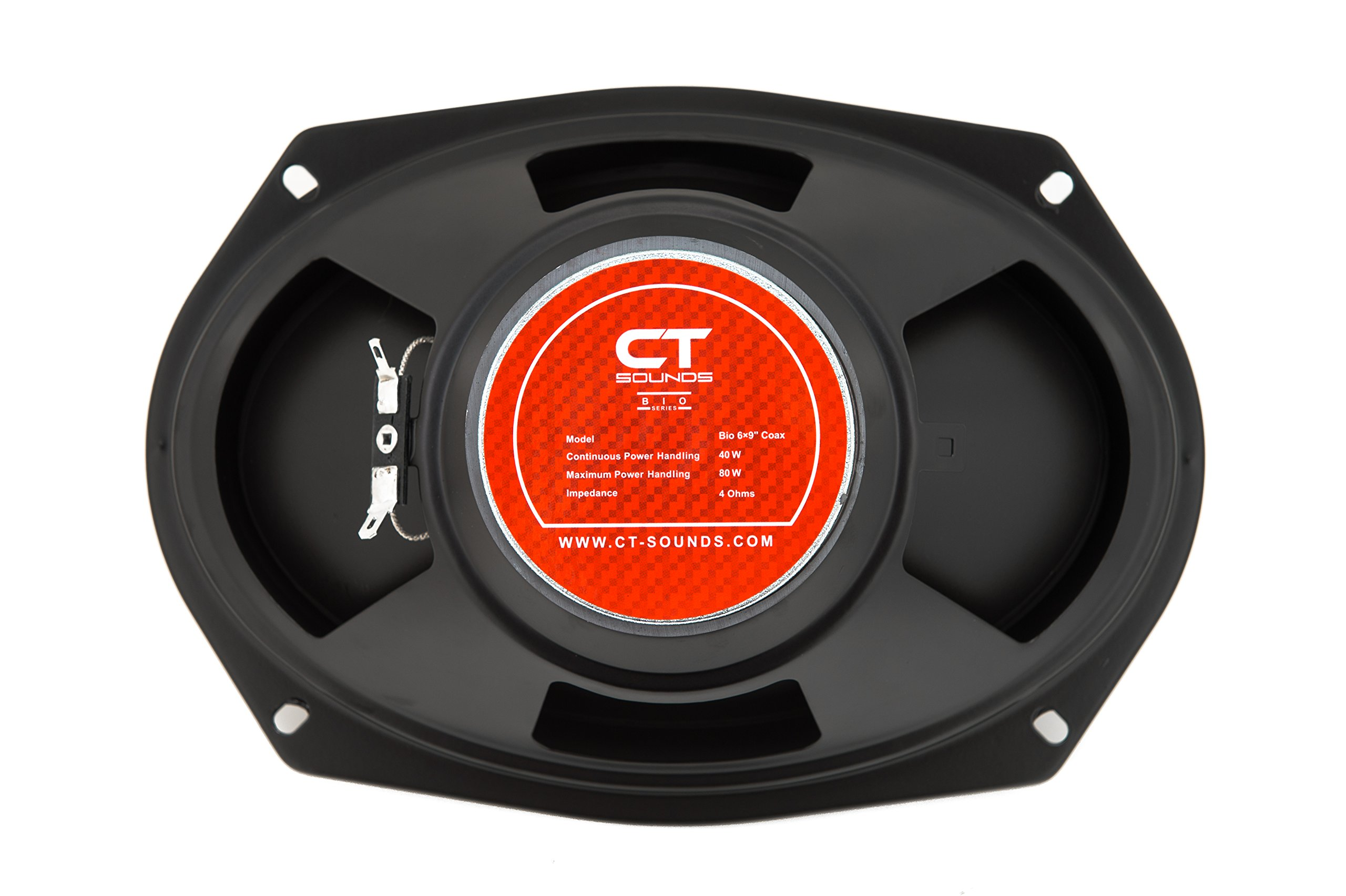 CT Sounds Bio 6x9 Inch 2 Way Silk Dome Coaxial Car Speakers (Pair) by CT Sounds (Image #6)