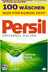 Persil Laundry Detergent Universal Mega Pack (100 Loads / 6.5 Kg)
