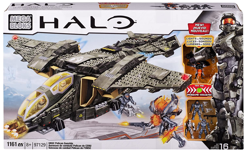 Mega Mega Bloks Inc Mega Bloks - - UNSC Halo - UNSC Pelican Gunship (Lights & Sounds)(97129)並行輸入 B00BGT5VYY, 洋服寸法直し袖丈詰めのgrandmagic:563d3626 --- mail.tastykhabar.com
