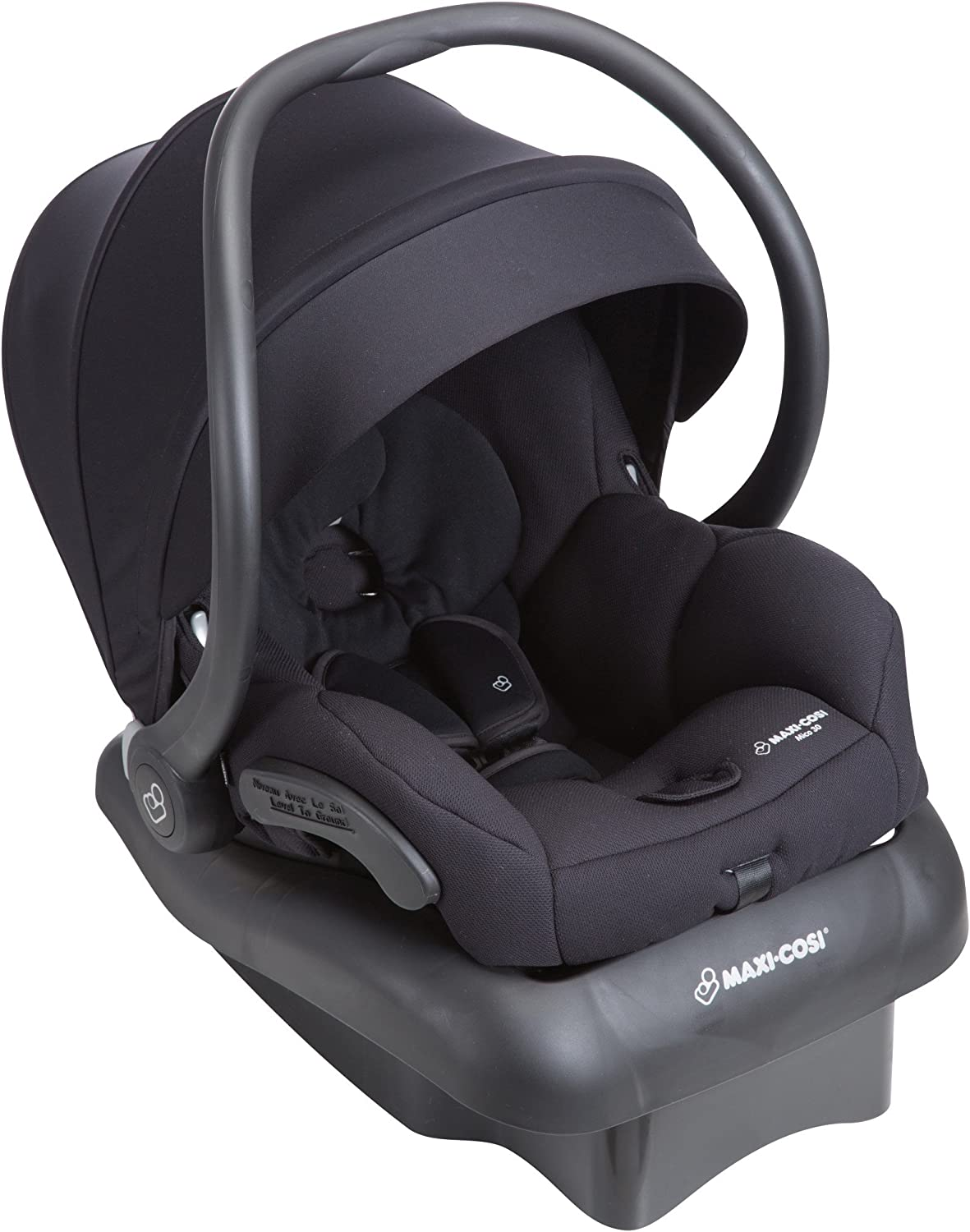 Maxi-Cosi Mico 30 Infant Baby Car Seat with Base Night Black 5-30 lbs NEW