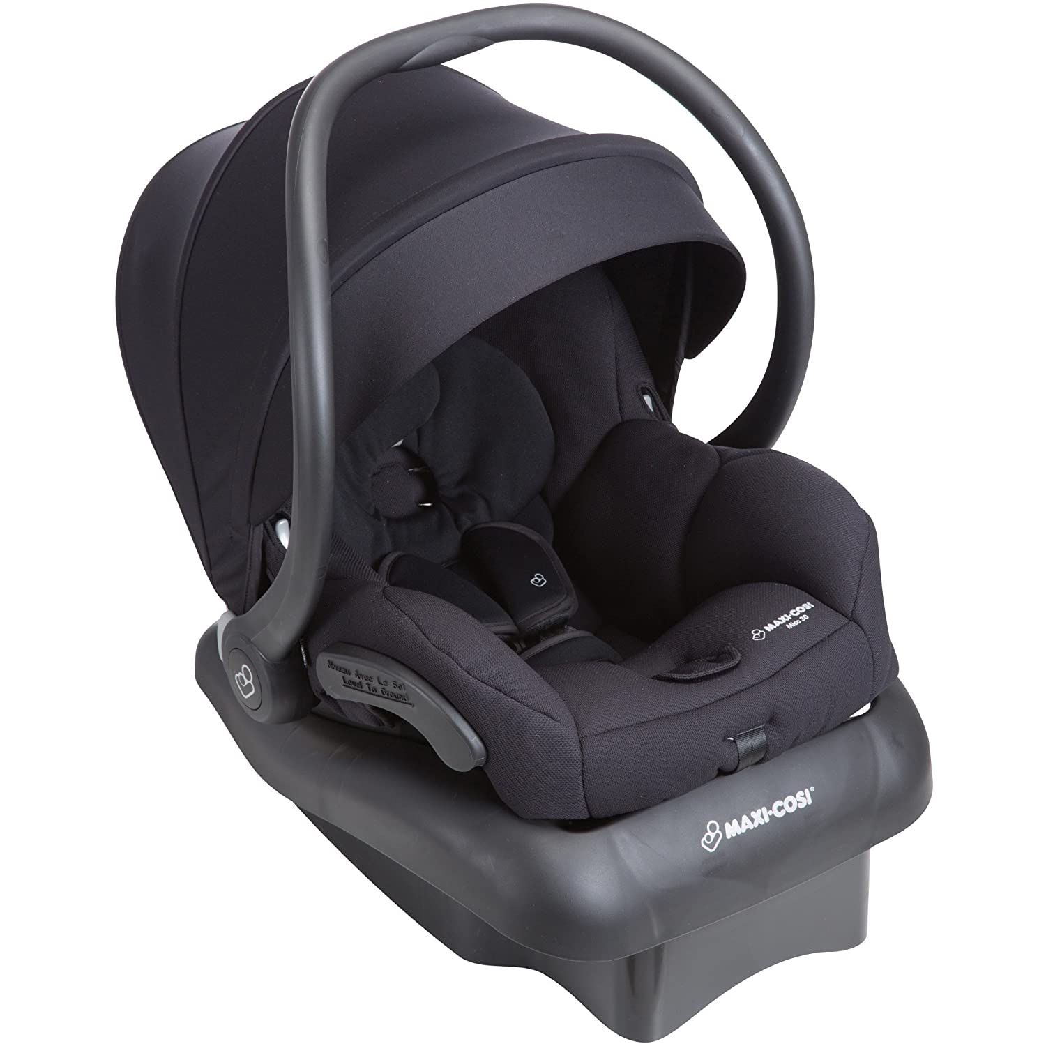 Maxi-Cosi Mico 30 Infant Car Seat, Night Black Dorel Juvenile Group-CA IC301EMJ