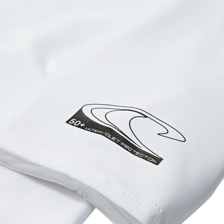 ONeill 2018 Youth Basic Skins Short Sleeve Rash tee White 3422