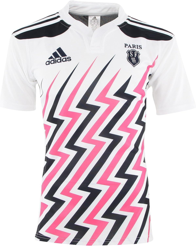 STADE FRANCAIS 2014/15 Home Camiseta de rugby para hombre, XXL: Amazon.es: Deportes y aire libre