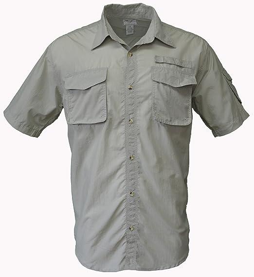 Foxfire - Camisa de Nailon para Pesca, Caza, Senderismo, Camping y Safari
