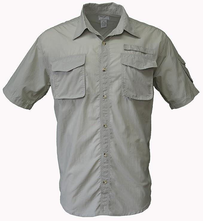 Foxfire - Camisa de Nailon para Pesca, Caza, Senderismo, Camping y Safari - Beige - Small: Amazon.es: Ropa y accesorios
