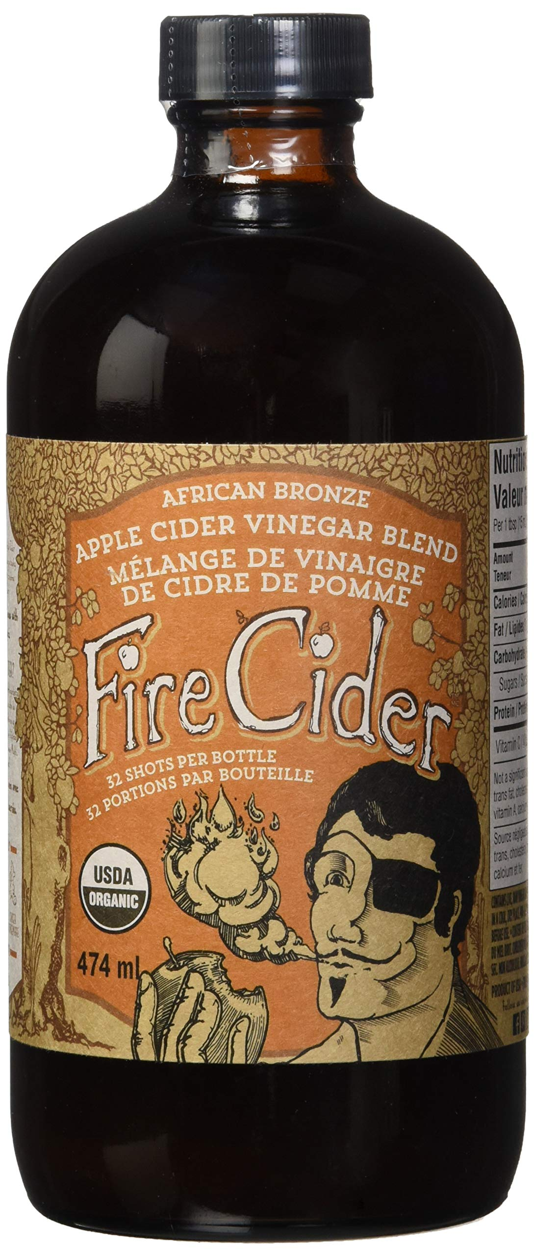Amazon.com : Fire Cider, Apple Cider Vinegar Tonic with
