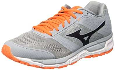 Synchro MX - Chaussures de Running Compétition - Homme - Bleu - Blu (Skydiver/White/Greengecko) - 41 EU (7.5 UK)Mizuno OmHrC