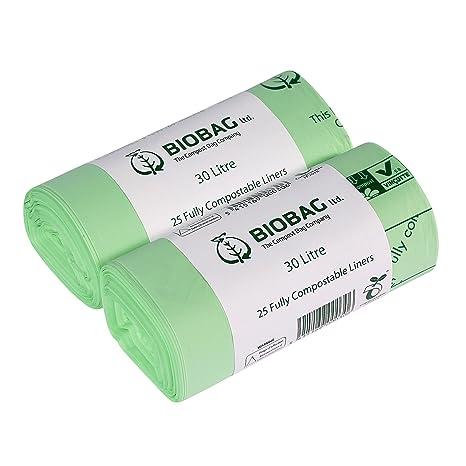 All Green Biodegradables Bolsas De Basura Compostables30 Y L50 UzqSpjMLVG