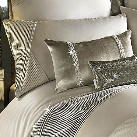 Kylie Minogue OMARA Luxury Bedding, Champagne (Housewife Pillowcase ...