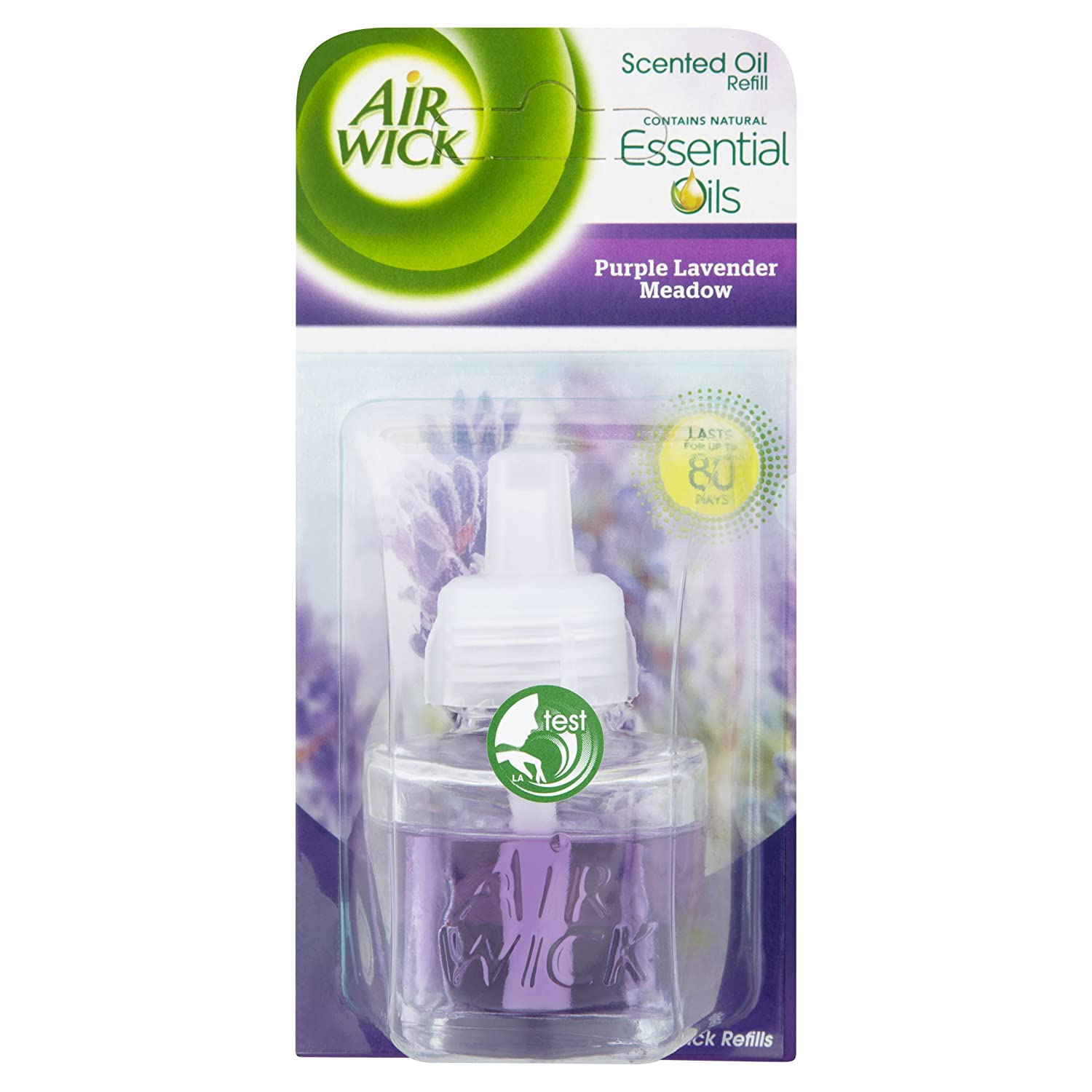 Air Wick Electrical Plug In Air Freshener Refill Crisp Linen and Lilac 17ml, Pack of 6 (Total 6 Refills)