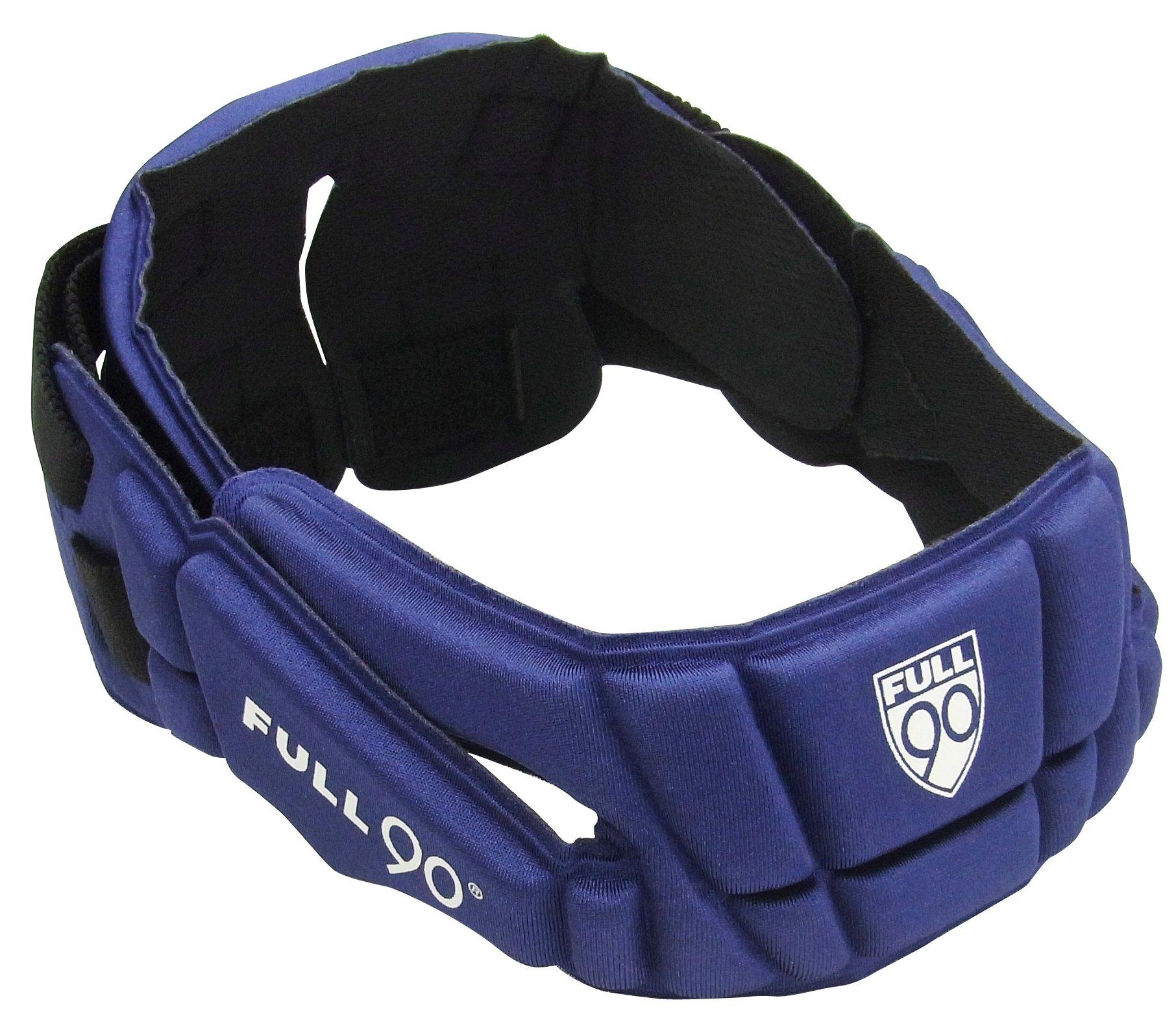 Full 90 Sports Premier Performance Soccer Headgear, Navy, Small/Medium