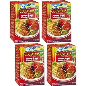 Rivoire & Carret - Couscous Medium, 500g x 4 (Pack of 4)