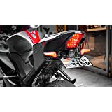 MOTOAGGRANDIZE Tail Tidy/Fender Eliminator for Yamaha R15 V3 | Color: Matte Black [Watch Out for Our Counterfeit Product listings]