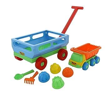 Polesie Polesie45843 - Juego de carritos (8 Piezas): Amazon.es: Juguetes y juegos