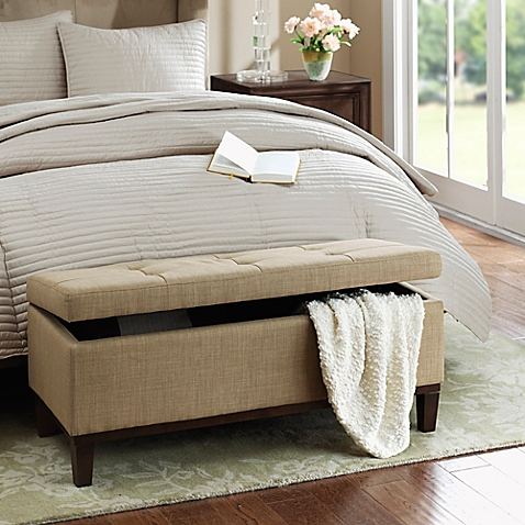 Regency Heights® Amherst Bench Storage Ottoman - BedBathandBeyon​d.com