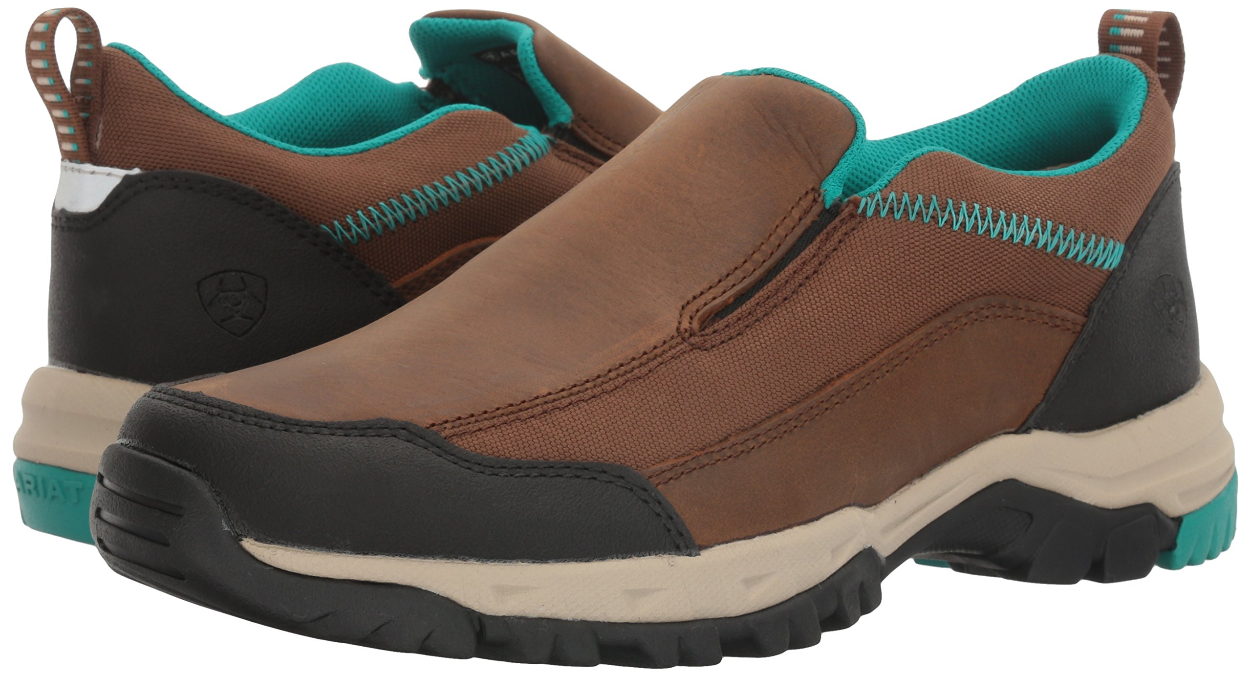 Ariat Women's Skyline Slip-on Hiking Shoe, Taupe, 8 B US by Ariat (Image #6)