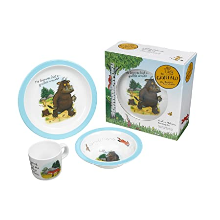 Gruffalo Melamine Feasting Set - Plate Cup and Bowl in a Gift Box  sc 1 st  Amazon UK & Gruffalo Melamine Feasting Set - Plate Cup and Bowl in a Gift Box ...
