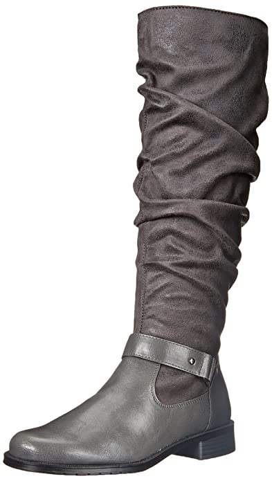 A2 by Aerosoles Women's Ride with Me Riding Boot,Grey Combo,5 ...