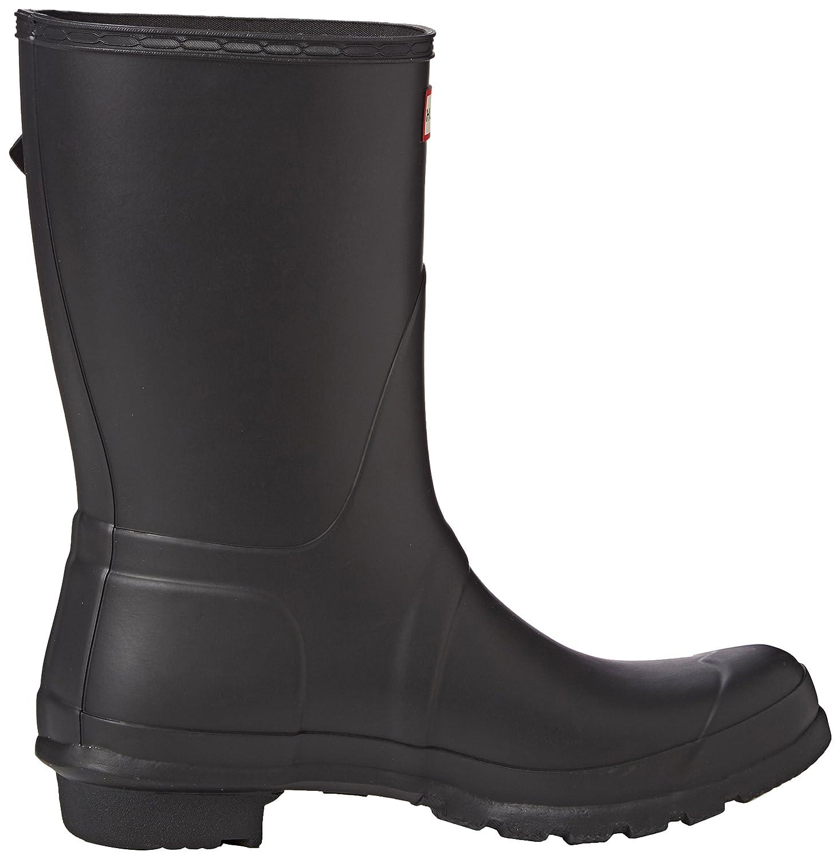 Hunter Women's Original Short Rain Boot B00K1WASKY 10 B(M) US|Black Matte