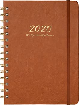 Kodexlode Weekly, Monthly and Yearly 2020 Planner with Monthly Tabs