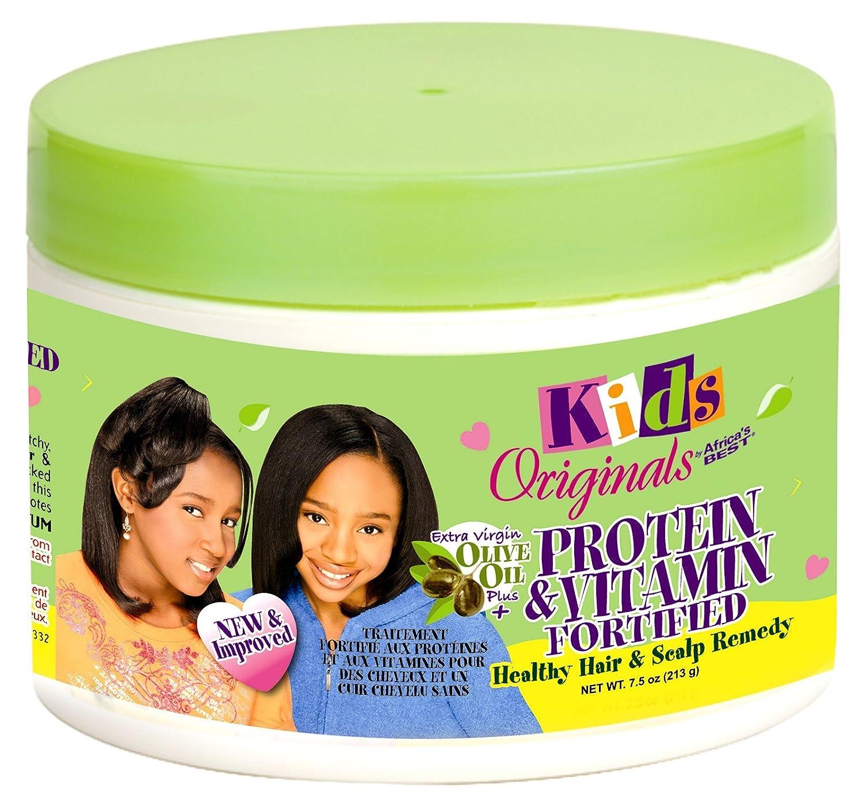 Kids Organics 213 g Proteína y Vitamina fortificada Cabello Sano y cuero cabelludo Remedio: Amazon.es: Belleza