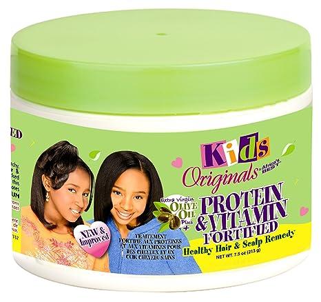 Kids Organics 213 g Proteína y Vitamina fortificada Cabello Sano y cuero cabelludo Remedio