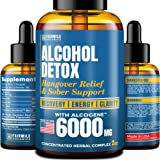 Advanced Liver Detox & Hangover Cure - Made in USA - with Natural Herbal Blend 6000MG - Great Hangover Prevention…