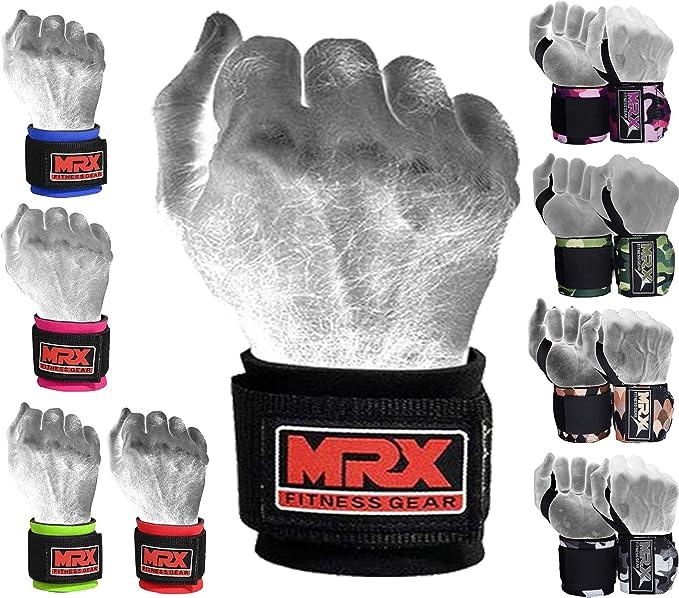 MRX Weight Lifting Wrist Wraps