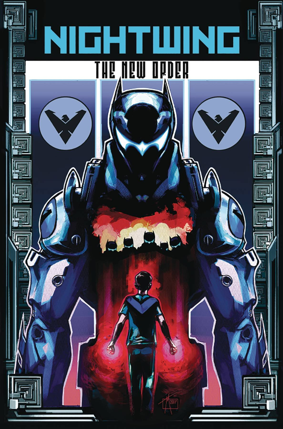 NIGHTWING THE NEW ORDER #2 (OF 6) Release date 9/27/17 pdf epub