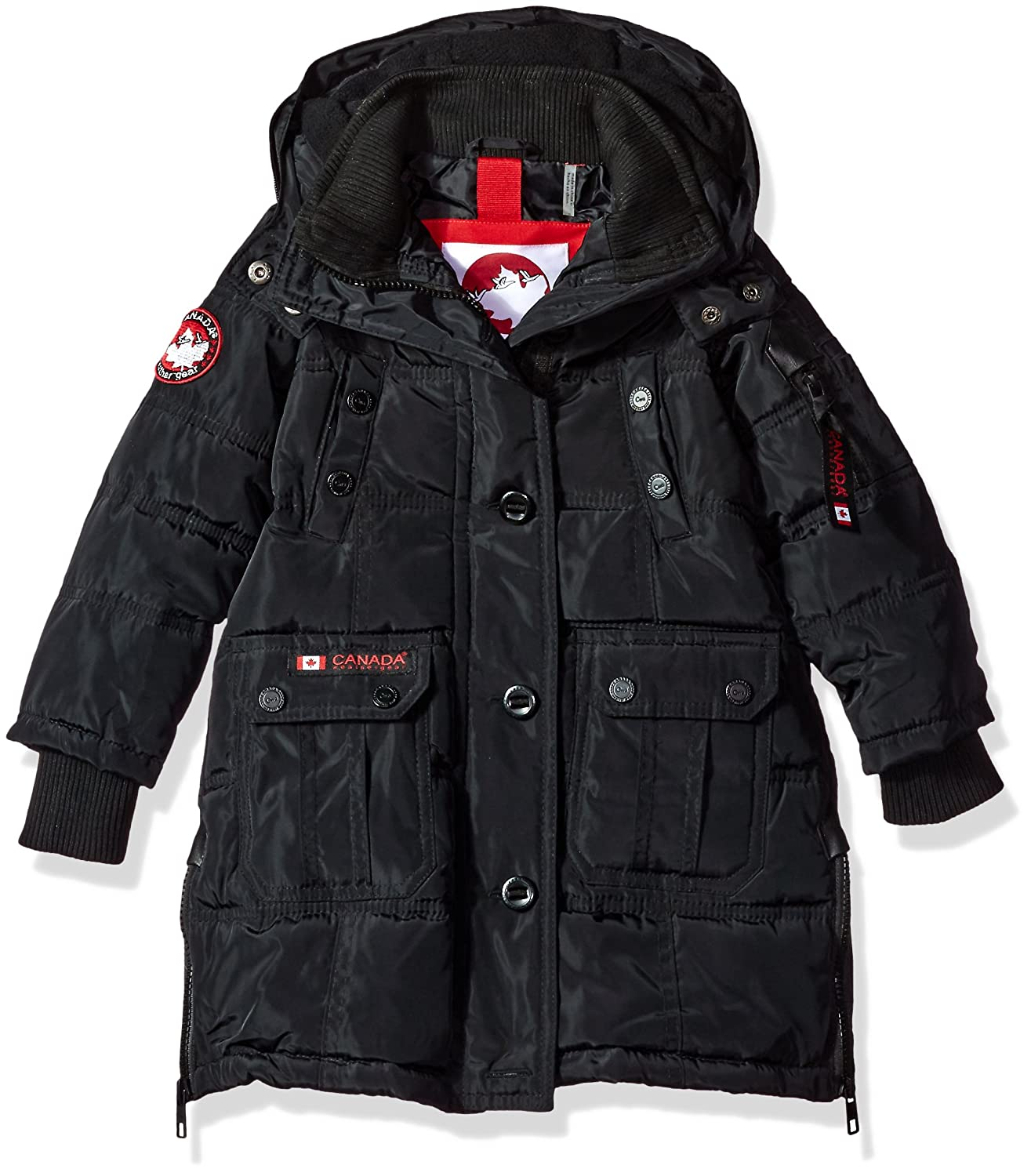 More Styles Available CANADA WEATHER GEAR Girls Toddler Outerwear Jacket