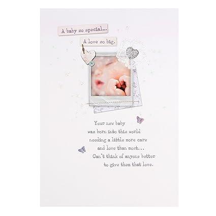 Tarjeta Hallmark de felicitación de nacimiento de bebé ...