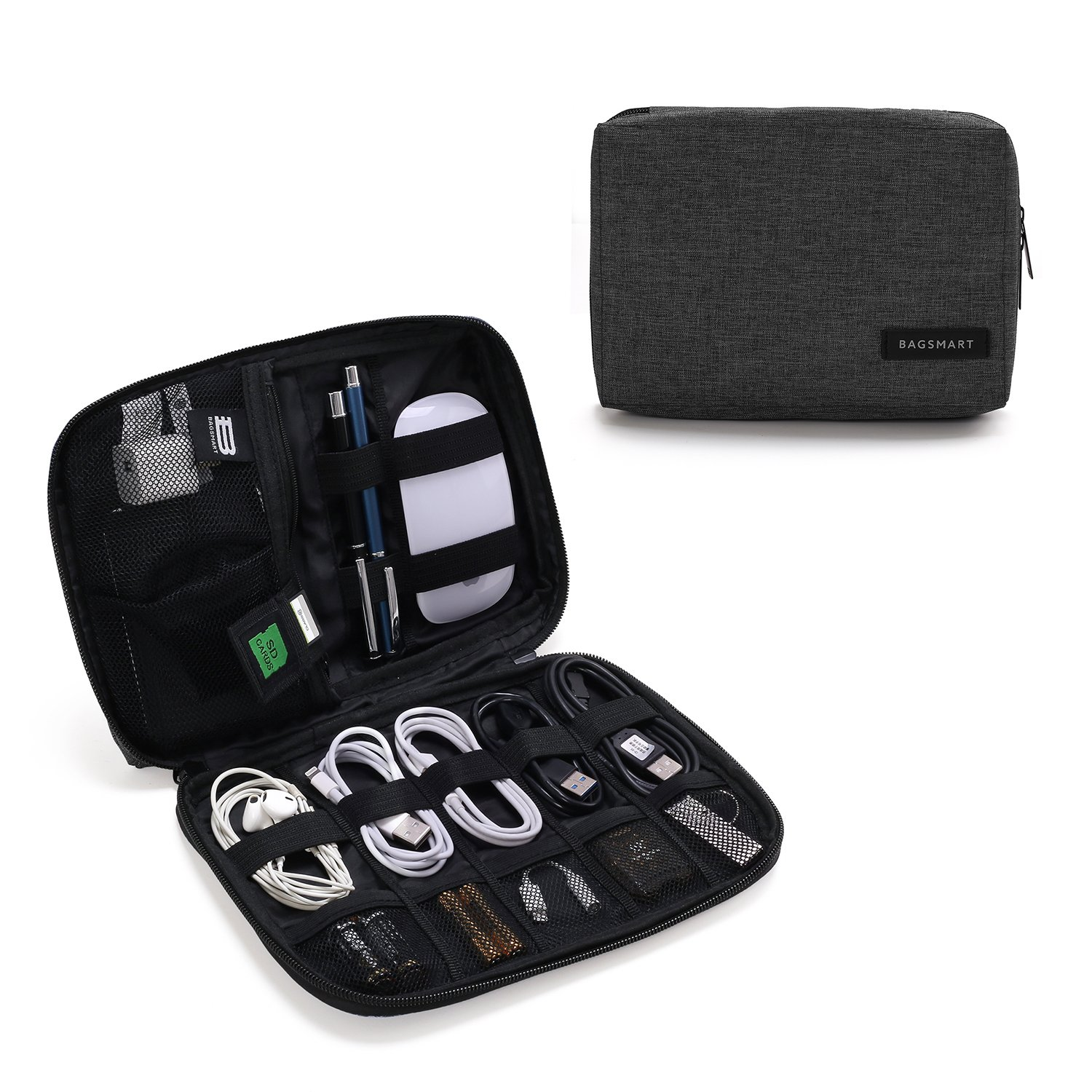 The BAGSMART Electronic/Cable Organizer travel product recommended by Chelsea Bancroft on Lifney.
