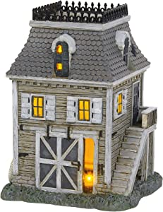 Department 56 The Addams Family Village Carriage House Lit Building, 6.1 Inch, Multicolor