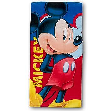Mickey Mouse - Toalla de Playa Joyful (Algodón): Amazon.es: Juguetes y juegos