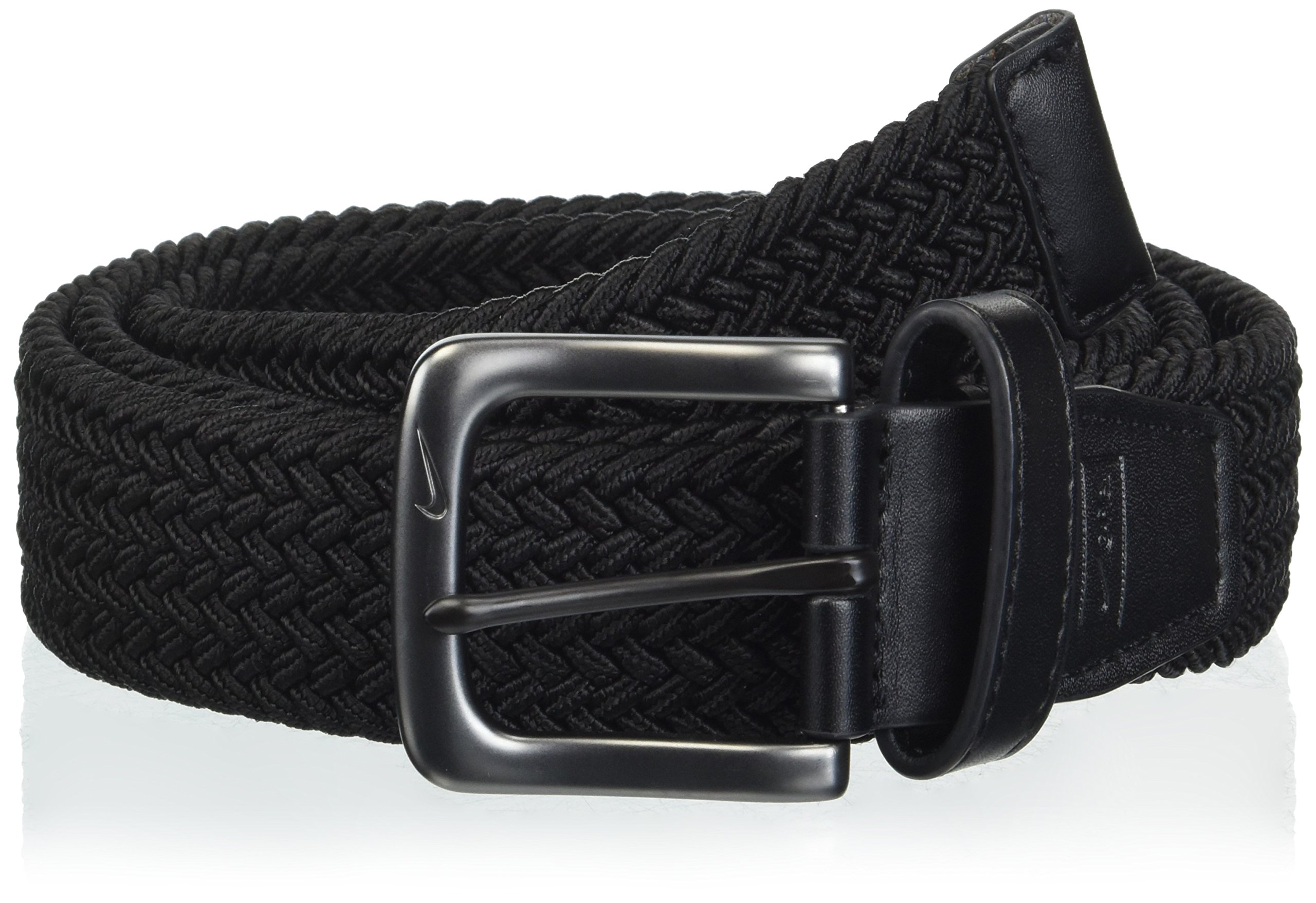 Nike Men's Stretch Woven Belt, black, XXL